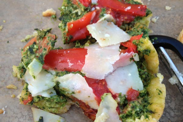 Post image for Roasted Tomato and Pesto Tart