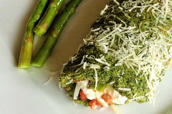 Post image for Springtime Spinach St Patty's Day Roulade